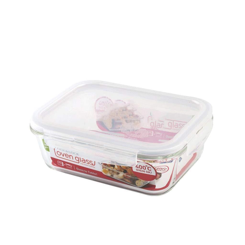 ZL-Caja de almacenamiento Fiambrera de Cristal para Verduras Caja ...