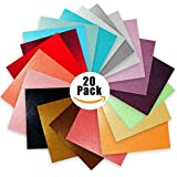 """Glitter Vinyl Self Adhesive Vinyl Sheets 6"""" x 6"""" 