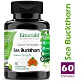 7 sources omega - Sea Buckthorn - Promotes Skin Nourishment, Natural Source of Vitamin C and Vitamin E, & Source of Omega 7's (Palmitoleic Acid) - Emerald Laboratories (Fruitrients) - 60 Vegetable Capsules