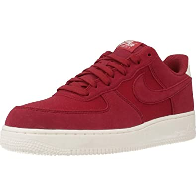 promo code 78261 6781f Nike Mens Air Force 1 07 Suede Gymnastics Shoes, Red CrushSail 600, 6  UK Amazon.co.uk Shoes  Bags