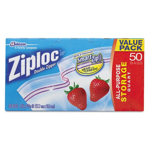 Ziploc Double Zipper Storage 1 75mil product image