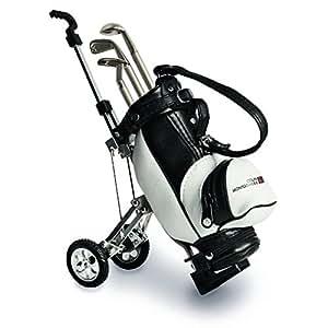 Colin Montgomerie Set de - Bolsa de palos de golf, color negro