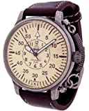 """German Military Flier watch """"Special spring system"""" A1258"""