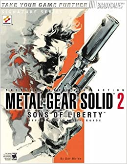 Metal gear solid 2: sons of liberty official strategy guide.