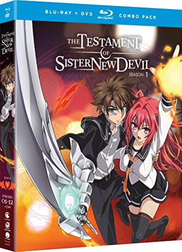 The Testament of Sister New Devil: Season One [Blu-ray] (Highschool Dxd Best Scene)