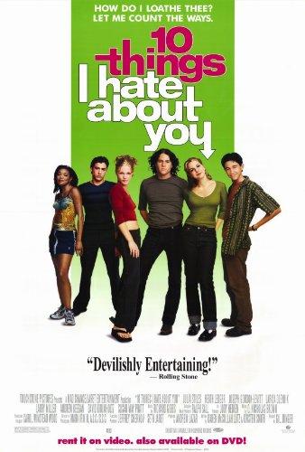 Amazon.com  Ten Things I Hate About You Poster B 27x40 Julia Stiles ... 6664afa2f092c