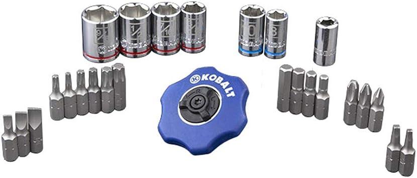 Kobalt 1//4-in Drive Torx Bit Driver Socket