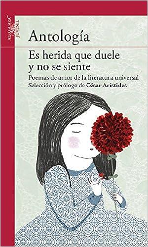 Amazon.com: Es herida que duele y no se siente (Antología de poemas de amor de la literatura universal) (Serie Roja) (Spanish Edition) (9786070118746): ...