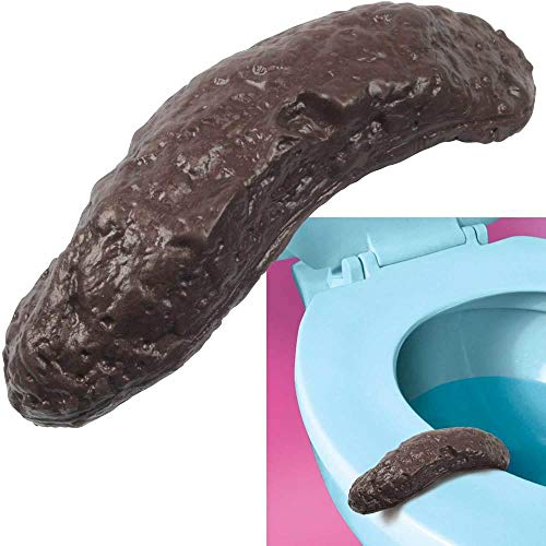 Loftus New Hilarious Rubber 4 Inch Fake Human Poop Crap Turd - Funny Gross Prank -