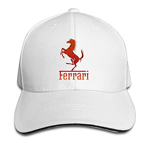 MaNeg Ferrari Team Sandwich Peaked Hat & Cap - Good Tiffany A Brand Is