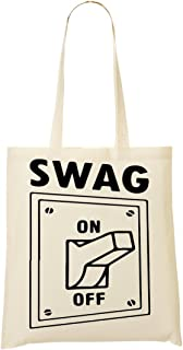 CP Do You Want Swag On Or Off ? Sac Fourre-Tout Sac À Provisions