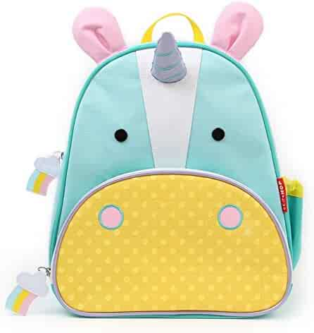 Skip Hop Zoo Toddler Kids Insulated Backpack Eureka Unicorn Girl, 12-inches, Multicolored