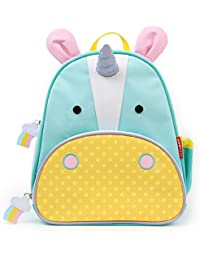 Zoo Toddler Kids Insulated Backpack Eureka Unicorn Girl, 12-inches, Multicolored