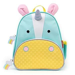 Skip Hop Zoo Toddler Kids Insulated Backpack Eureka Unicorn Girl, 12-inches, Multicolored