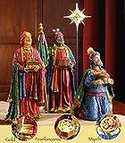 Three Kings Gifts Real Life Christmas Nativity Set