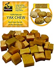 Himalayan Yak Nugget Dog Chew, 100% Natural Dog Chews, Value Pack (~ 1 lb value pack, Multiple Nuggets), by Downtown Pet Supply