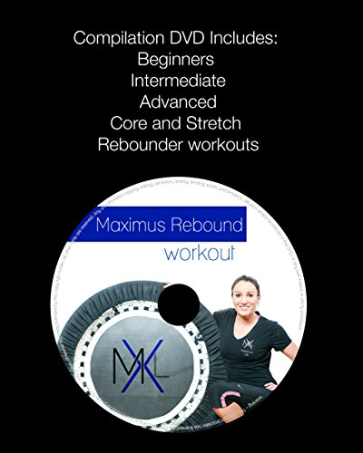 MaXimus Pro Quarter Folding Mini Trampoline Includes DVD Bar Bag Bands Weights by MXL MaXimus Life (Image #8)