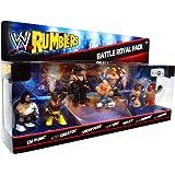 WWE Wrestling Rumblers Mini Figure 7Pack Battle Royale Pack Brawl Stars