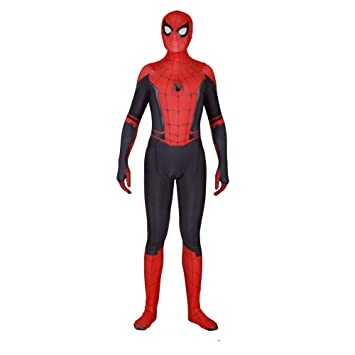 JUFENG Nuevo Adulto Niños Spider-Man 2019 Traje De Halloween Traje De Impresión 3D Spandex Lycra Spiderman - Traje Cosplay Traje,A-Adult/L