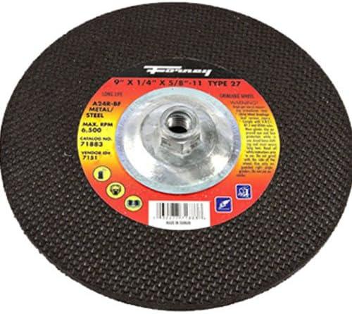 Aluminum Oxide // Price is for 20 EA Depressed Center Wheel 9x1//4x7//8 T28