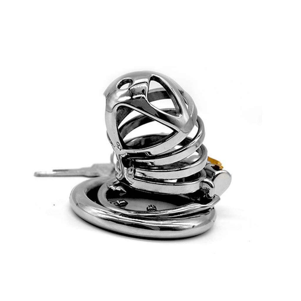 XUDONG Bloqueo de castidad Ronda de castidad Bloqueo de castidad Bloqueo del pene Anillo Anti-derramamiento Anti-engaño,45mm: Amazon.es: Hogar
