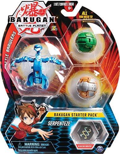 Bakugan Starter 3 Pack - Mix 2 - Peonzas (Batalla de trompos ...