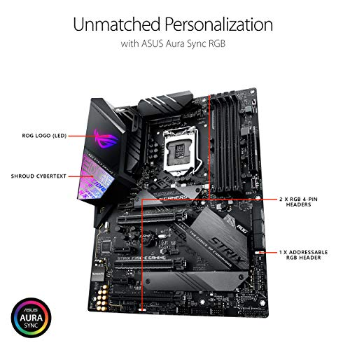 Build My PC, PC Builder, ASUS ROG Strix Z390-E Gaming