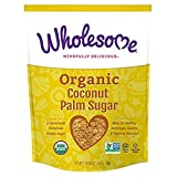 Wholesome Sweeteners Organic Coconut Palm Sugar, 16 Ounce (Pack of 5)