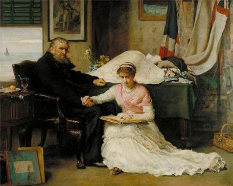 Oil Painting 'John Everett Millais - The North-West Passage,1874' Printing On Perfect Effect Canvas , 12x15 Inch / 30x38 Cm ,the Best Powder Room Gallery Art And Home Gallery Art And Gifts Is This High Quality Art Decorative Prints On Canvas