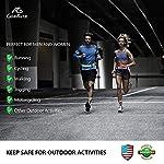 GoxRunx 6 Pcs Reflective Bands Running Gear for Arm/Wrist/Ankle/Leg + Slap Bracelet, Hi Vis Safety Reflectors Armband Reflective Tape Straps for Night Running, Cycling, Walking