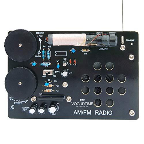 AMFM Radio Kit SolderingProjectKitforLearning Practicing TeachingElectronicsby VOGURTIME (Electronic Project Kits)