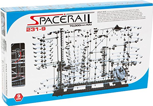 Spacerail Advanced Steel Marble Ball High Speed Coaster Run DIY Kits Level 9, Scientific Toys