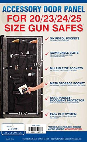 Liberty Safe Gun Safe Accessory Door Panel Size 20/23/24/25 #10585