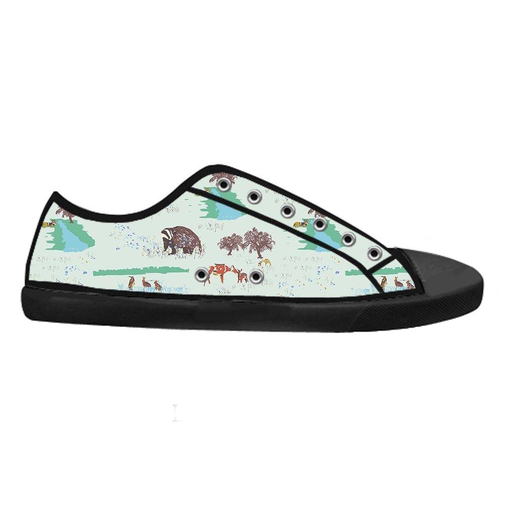 Custom Mens Fashion DIY Image Small Animals New Sneaker Canvas Shoes