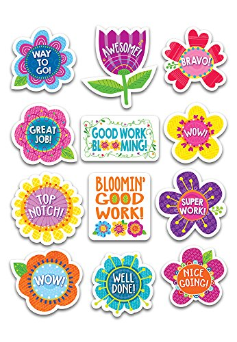 Creative Teaching Press Springtime Blooms Reward Stickers (4009)