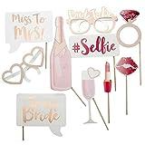 Hen Party Photo Booth Prop Team Bride Photobooth Wedding Decoration Bridal Shower Bachelorette Party Supplie