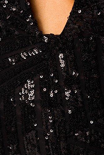 Stilikone - Vestido - para mujer schwarz (Sw 16)