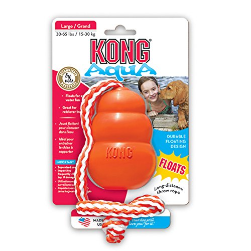KONG Aqua Dog Toy, Large, Orange