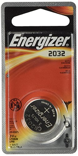 0.5' Disc Color - Energizer 2032BP2 Watch/Electronic/Specialty Battery, 2032, 3V, 2/Pack