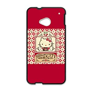 KKDTT Hello kitty Phone Case for HTC One M7 case