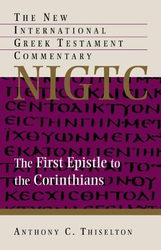 Download The First Epistle to the Corinthians (The New International Greek Testament Commentary) pdf
