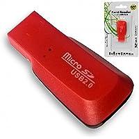 Leitor de Cartão de Memória Externo USB 2.0 - Adaptador Cartão Memória Micro Sd