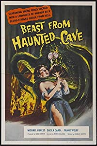 Beast from Haunted Cave POSTER Movie (27 x 40 Inches - 69cm x 102cm) (1959) from Beidou starfish