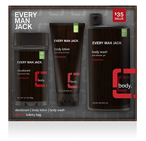 Every Man Jack Body Kit, Cedarwood