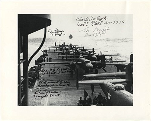 Doolittle Raiders Photograph Signed with co signers