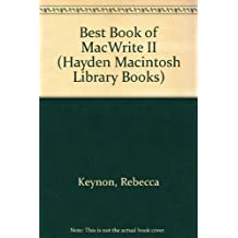 The Best Book of Macwrite II