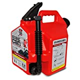 Surecan CRSUR22G1 Gasoline CAN, 2.2 Gallon, Red