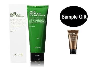 Benton Aloe Propolis Soothing Gel with 1(Benton Sample Gift) for Baby  Tender Sensitive Skin &