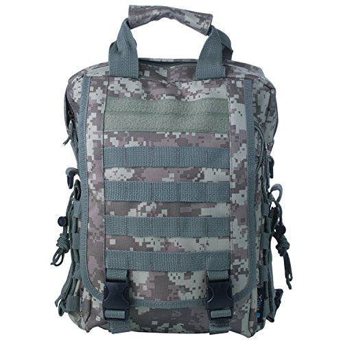 Extreme Pak Digital Camo Water-Resistant Heavy-Duty Tactical Backpack