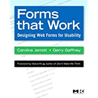 Forms that Work: Designing Web Forms for Usability (Interactive Technologies)